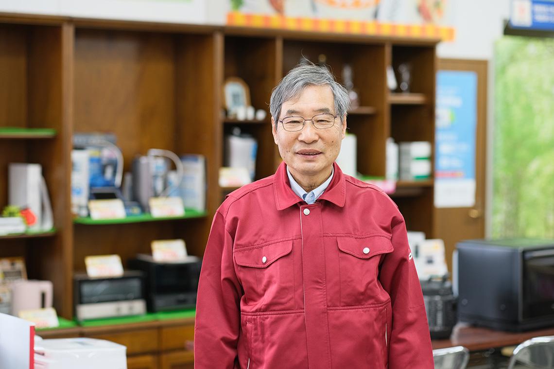 スタッフ・本谷 善昭