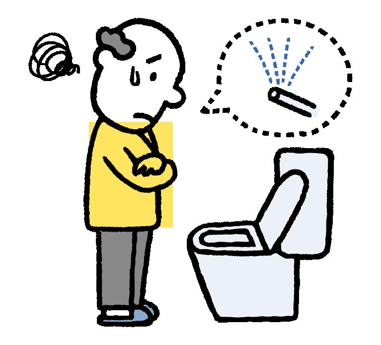シャワー付きトイレの修理