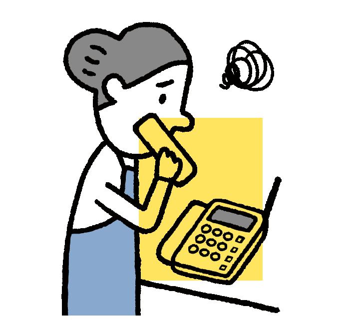 電話機の修理